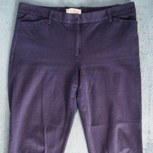GAP Slim Cropped Navy Blue Work Pants Size 10